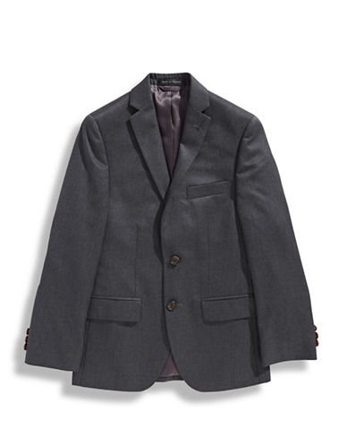 Lauren Ralph Lauren Boys 8 to 20 Two Button Sport Coat-MEDIUM GREY-16