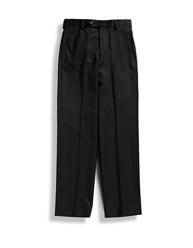 Lauren Ralph Lauren Boys 8 to 20 Twill Dress Pants-BLACK-20