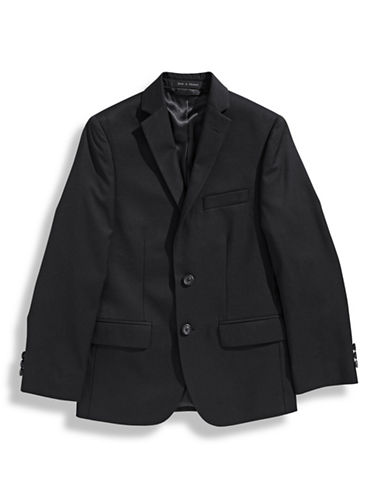 Lauren Ralph Lauren Boys 8 to 20 Two Button Sport Coat-BLACK-10