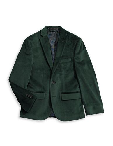 Lauren Ralph Lauren Velvet Sport Coat-GREEN-12