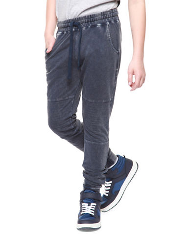Dex Knit Moto Jogger Pants-BLUE-14-16