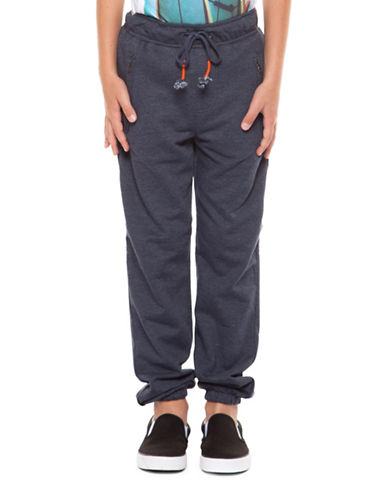 Dex Mélange Knit Jogger-BLUE-X-Large