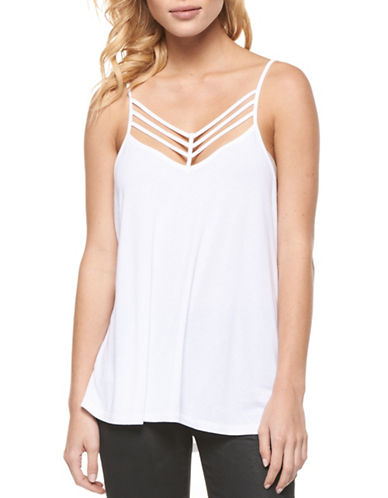 Dex Strappy Tank Top-WHITE-Medium 89360764_WHITE_Medium