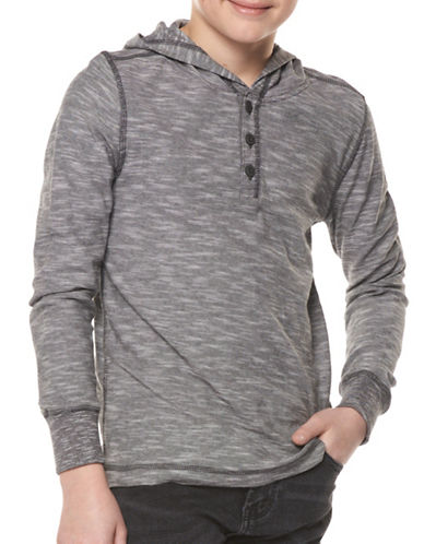 Dex Spacedye Pullover-SILVER-X-Large