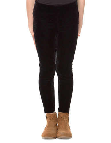 Dex Velvet Leggings-BLACK-Medium