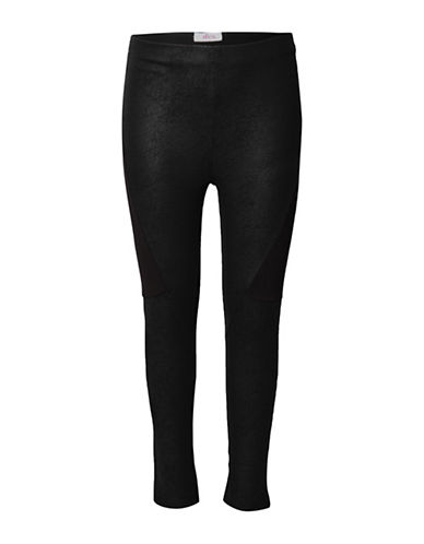 Dex Coated Moto Leggings-BLACK-6