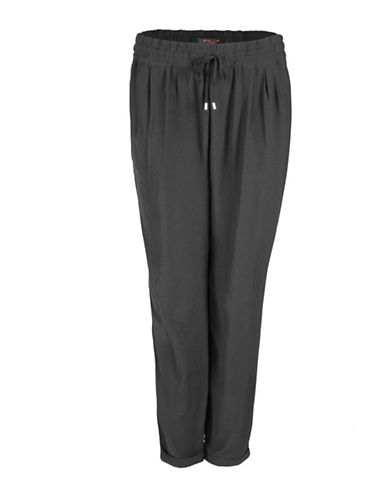 Fylo Relaxed Woven Pants-BLACK-Small 88367172_BLACK_Small