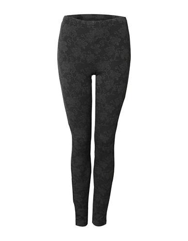 Dex Lace Jacquard Leggings-GREY-X-Small 88762488_GREY_X-Small