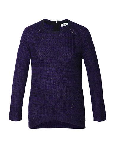 Dex Mix Yarn Sweater-PURPLE-Medium 88740403_PURPLE_Medium