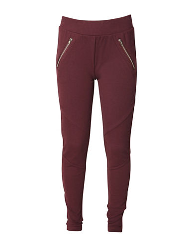 Dex Solid Leggings-RED-Large 88638011_RED_Large