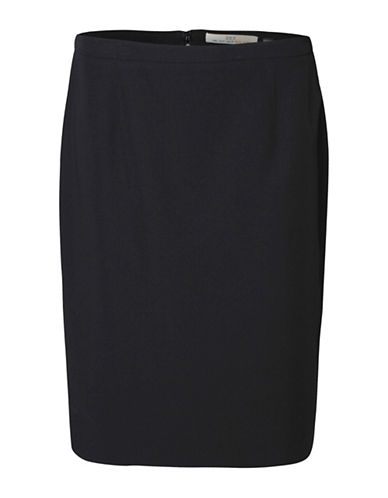 Dex Pencil Skirt-BLACK-Large