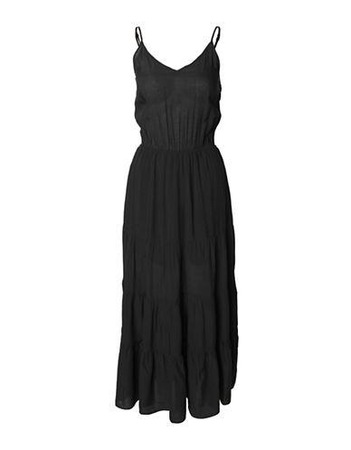 Dex Spaghetti Strap Dress-BLACK-Small 89192734_BLACK_Small