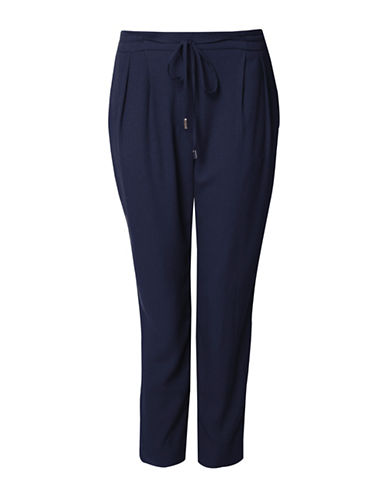 Dex Drawstring Waistband Pants-BLUE-Small 88992641_BLUE_Small