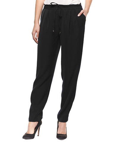 Dex Drawstring Jogger Pants-BLACK-Small 88921030_BLACK_Small