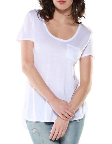 Dex Scoop Neck T-Shirt-WHITE-X-Small 89156929_WHITE_X-Small