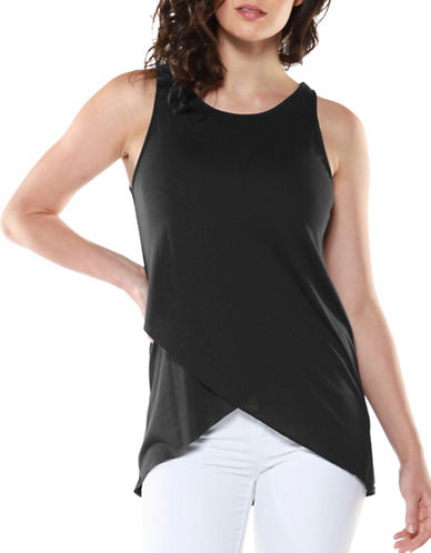 Dex Sleeveless Wrap Top-BLACK-Medium 89192931_BLACK_Medium