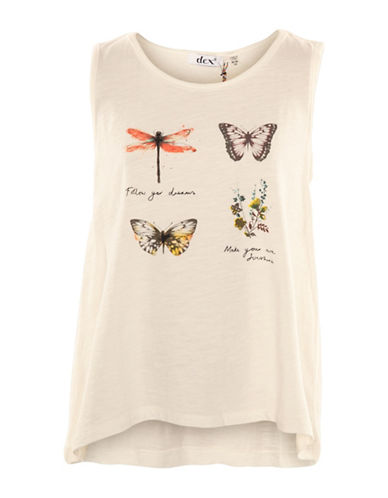 Dex Butterfly Hi-Lo Tank-WHITE-Small 88968453_WHITE_Small