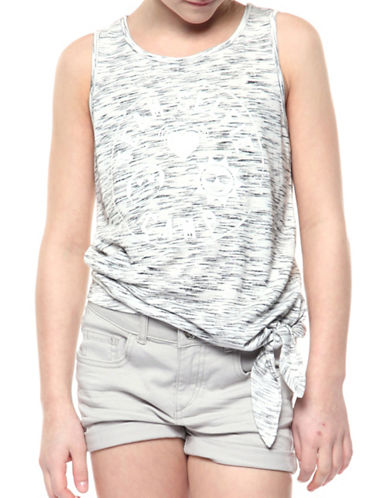 Dex Printed Tank Top-GREY-Medium 89146580_GREY_Medium