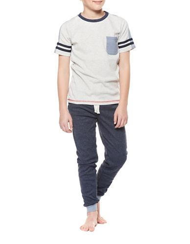 Dex Racestripe T-Shirt-GREY-Large 88989773_GREY_Large