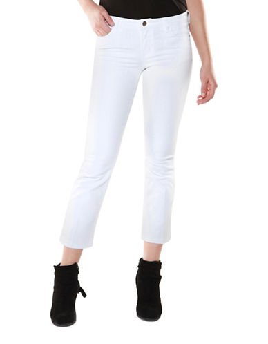 Dex Kick Flare Leg Jeans-WHITE-32