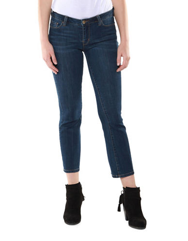 Dex Kick Flare Crop Jeans-BLUE-32