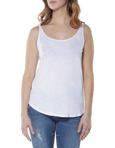 Dex Double Strap Camisole-WHITE-Medium
