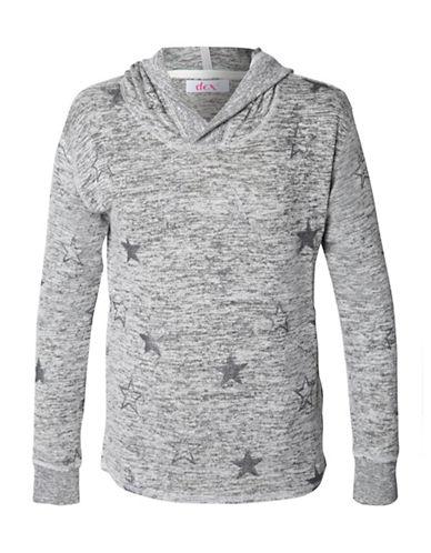 Dex Sparkle Hooded Sweater-GREY-Large 89317316_GREY_Large