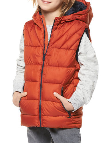Dex Hooded Vest-ORANGE-18-20