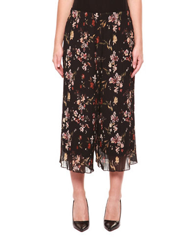 Dex Floral Midi Skirt-FLORALS-Medium