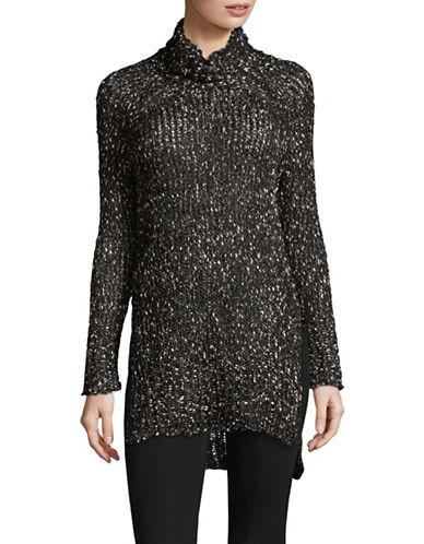 Dex Turtleneck Long Sweater-BLACK-Large