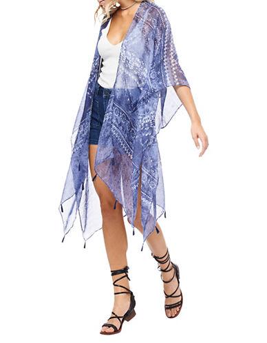 Dex Printed Kimono Cardigan-MULTI-Medium