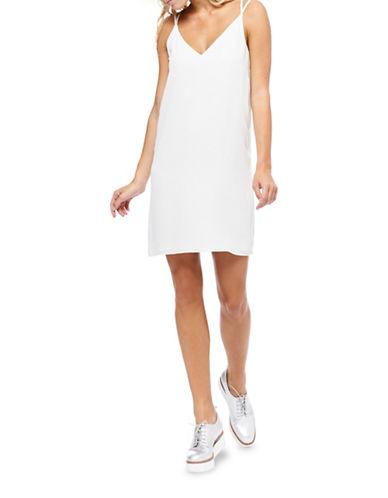 Dex Double-Strap Mini Dress-NATURAL-Large