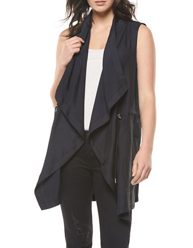 Dex Sleeveless Flyaway Jacket-BLACK-Large 89157004_BLACK_Large