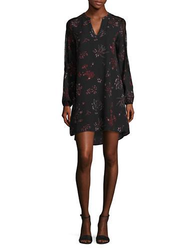 Dex Floral Long Sleeve Dress-AUTUMN FLORAL-Large