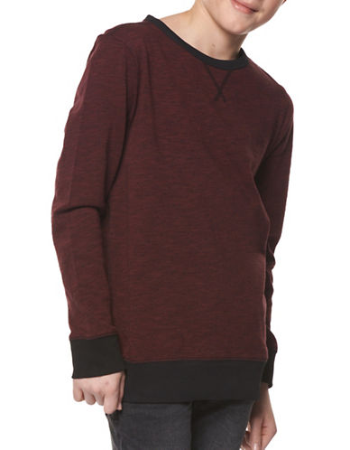 Dex Cotton Knit Top-RED-8-10