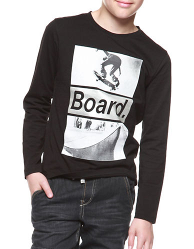 Dex Board Cotton Sweater-BLACK-8-10