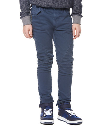 Dex Tapered Leg Stretch Denim Pants-BLUE-12