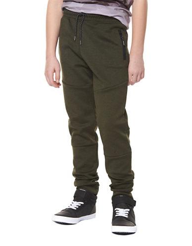 Dex Knit Jogger Pants-GREEN-X-Large