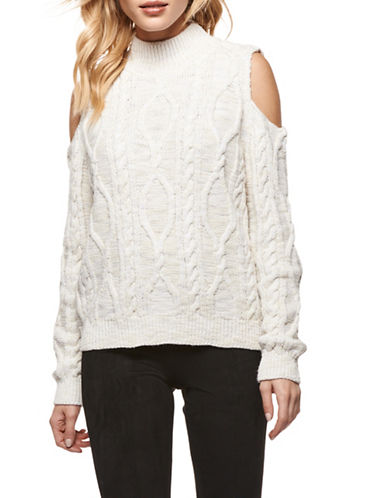 Dex Cold-Shoulder Sweater-CREAM-X-Small