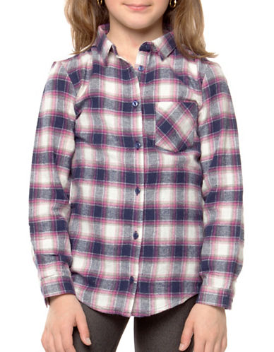 Dex Woven Plaid Shirt-RED-6X