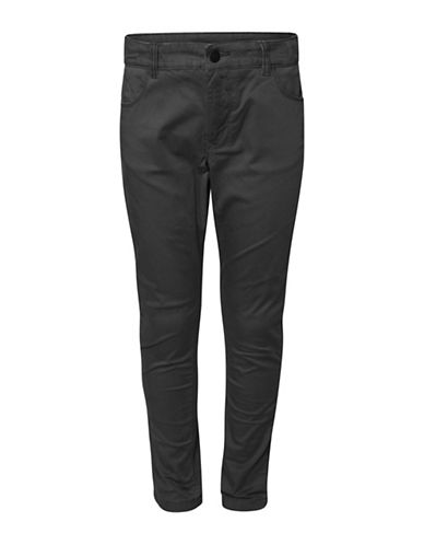 Dex Tapered Leg Stretch Denim Pants-BLACK-8
