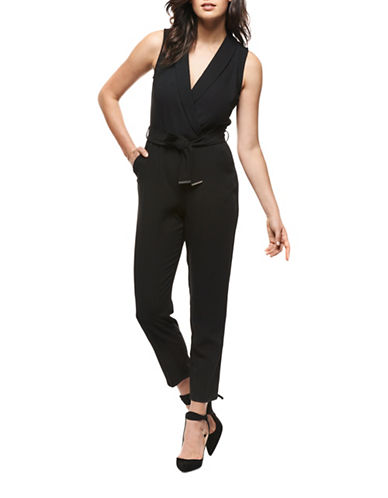 Dex Crossover Jumpsuit-BLACK-X-Small