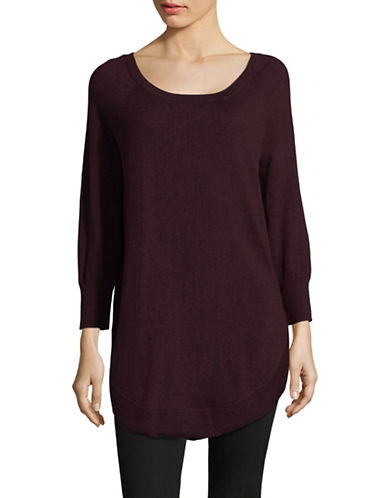 Dex Lace-Up Sweater-RED-X-Small