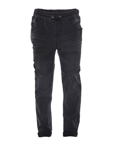 Dex Storm Washed Denim Joggers-BLACK-X-Large 89096421_BLACK_X-Large