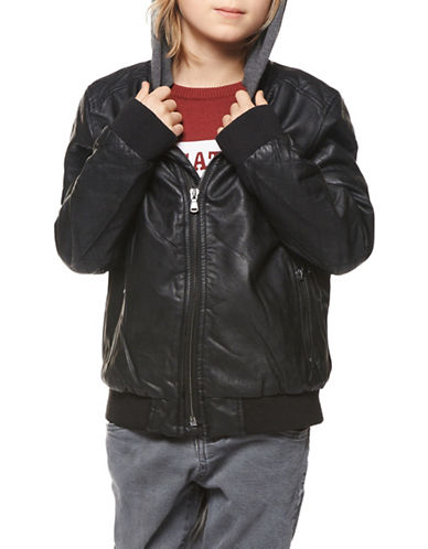 Dex Quilted Jacket-BLACK-14-16