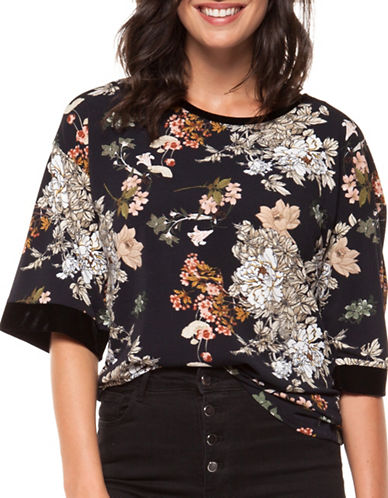 Dex Floral-Print Top-MULTI-Medium