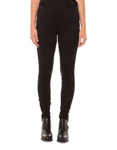 Dex Basic Leggings-BLACK-X-Small