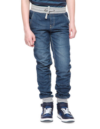 Dex Denim Joggers-BLUE-14-16