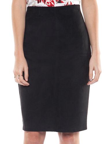 Dex Pencil Skirt-BLACK-X-Small