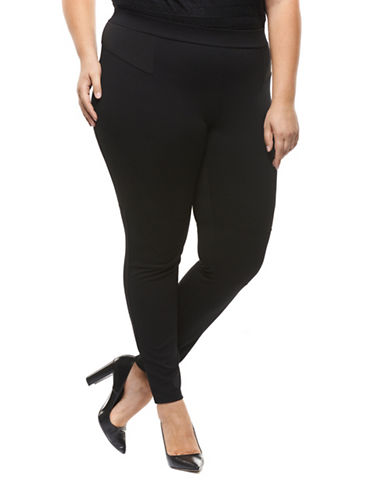 Dex Plus Classic Leggings-BLACK-2X